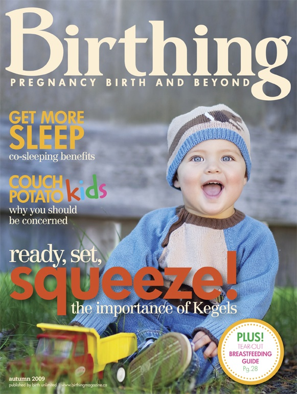 Birthing Magazine Fall 2009 Cover